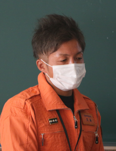 地方公務員Ⅰ(消防)久島佑介さん(44回生)